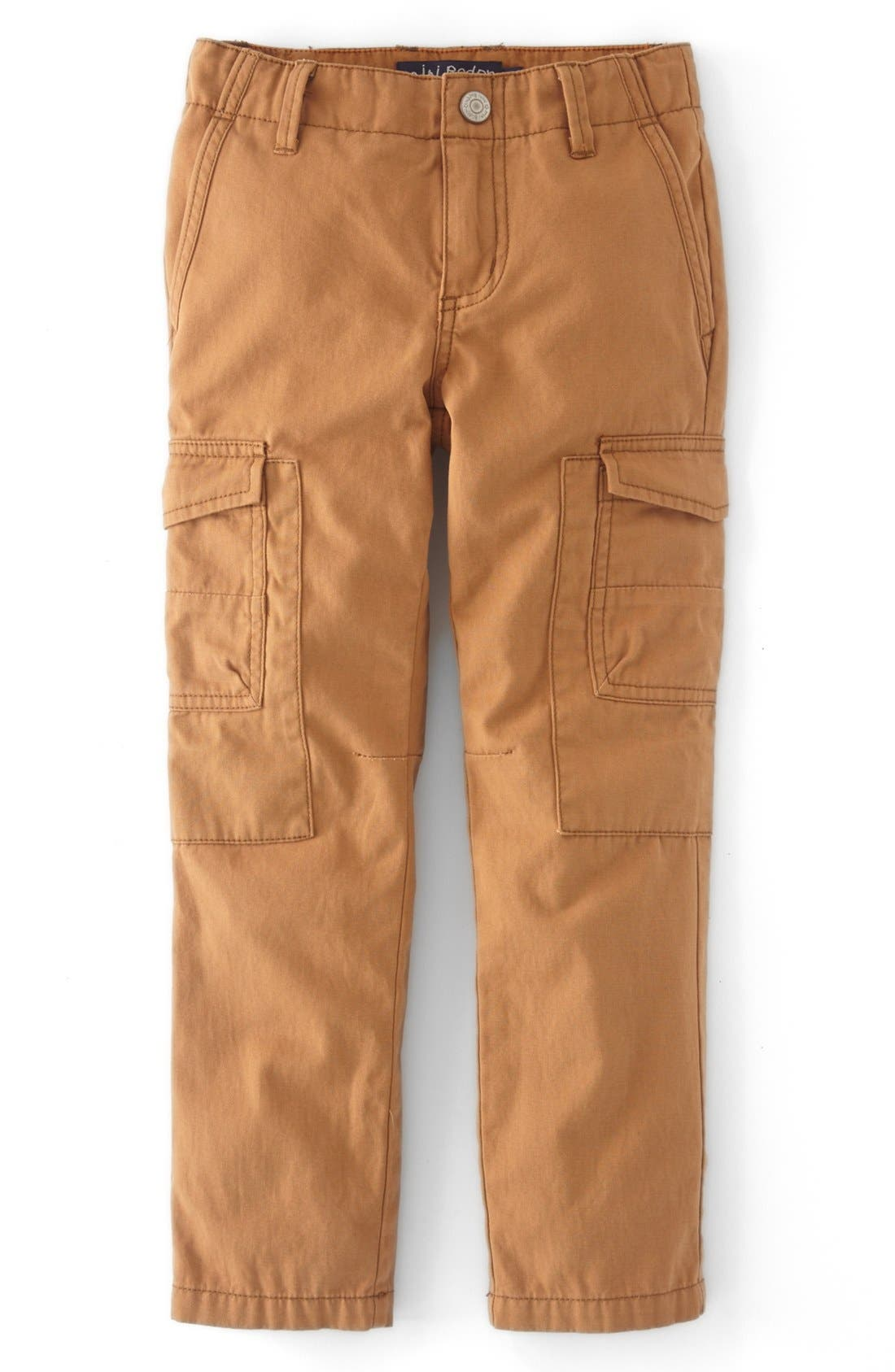 Alternate Image 1 Selected - Mini Boden Slim Fit Cargo Pants (Toddler Boys, Little Boys & Big Boys)