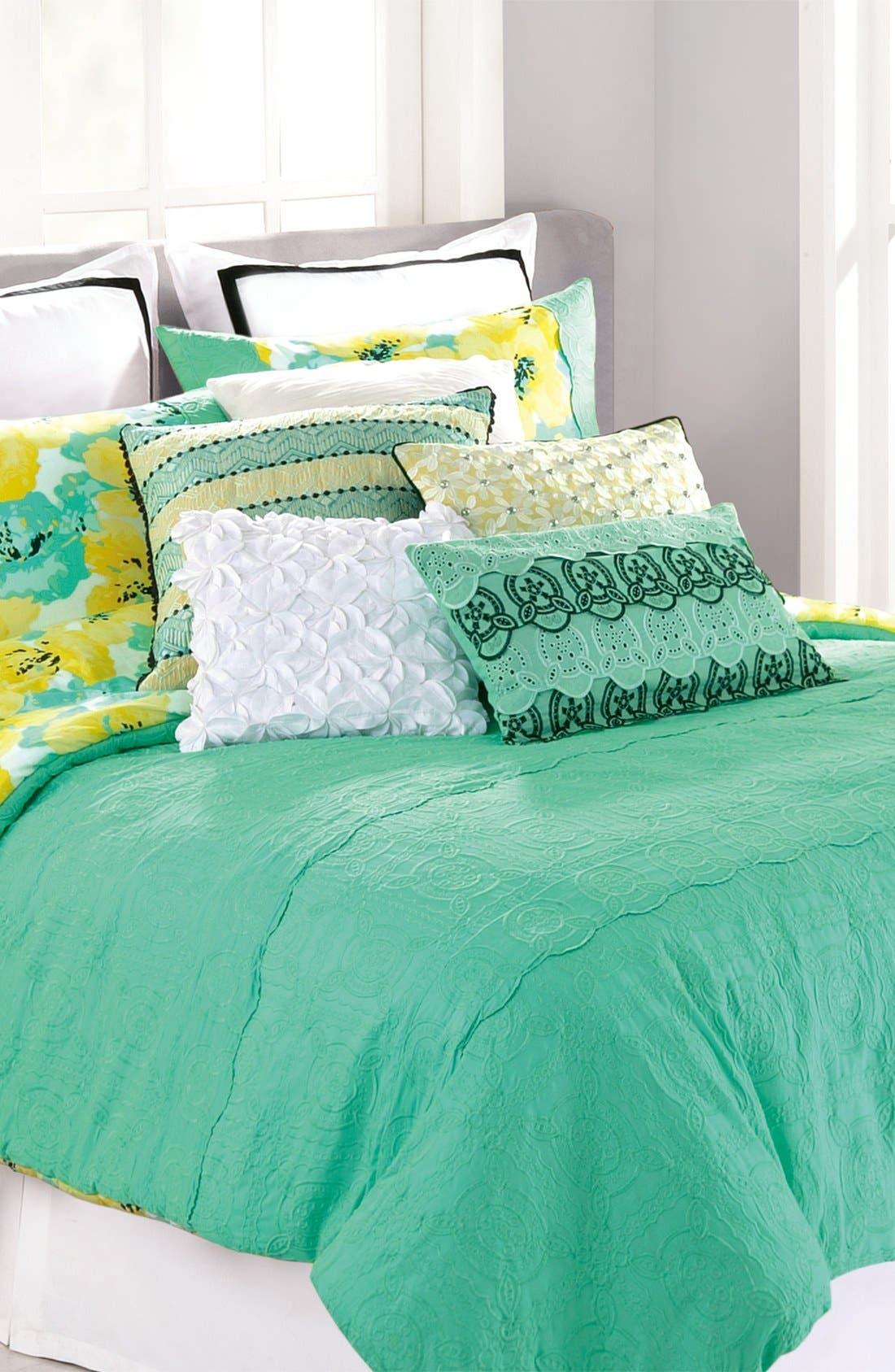Main Image - Nanette Lepore Villa 'Cottage Fresh' Reversible Cotton Comforter Set