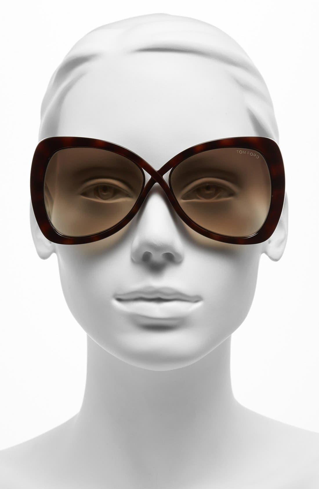 Alternate Image 2  - Tom Ford 60mm 'Jade' Sunglasses