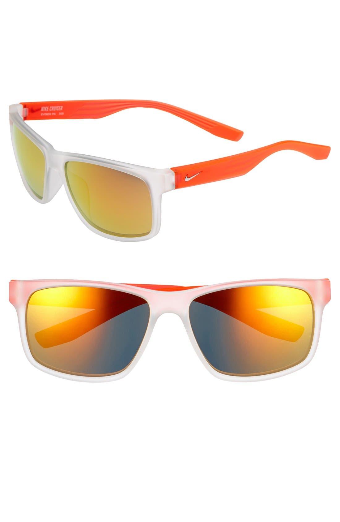 Main Image - Nike 'Cruiser' 59mm Sunglasses
