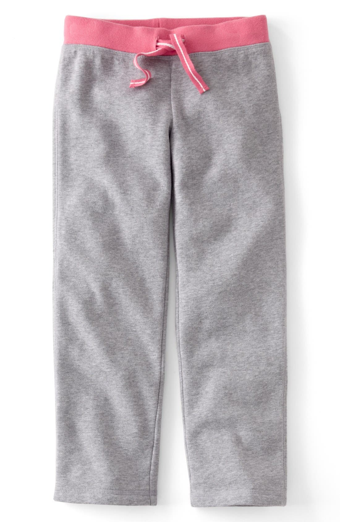 Alternate Image 1 Selected - Mini Boden 'Essential' Sweatpants (Toddler Girls, Little Girls & Big Girls)