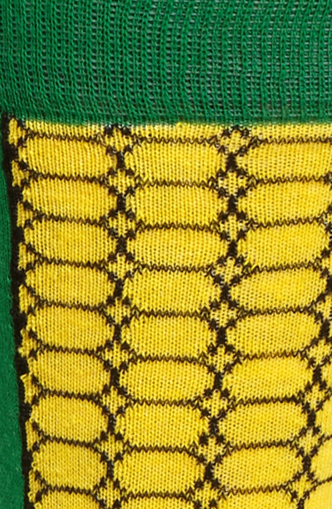 Alternate Image 2  - Topman Corn Cob Pattern Socks