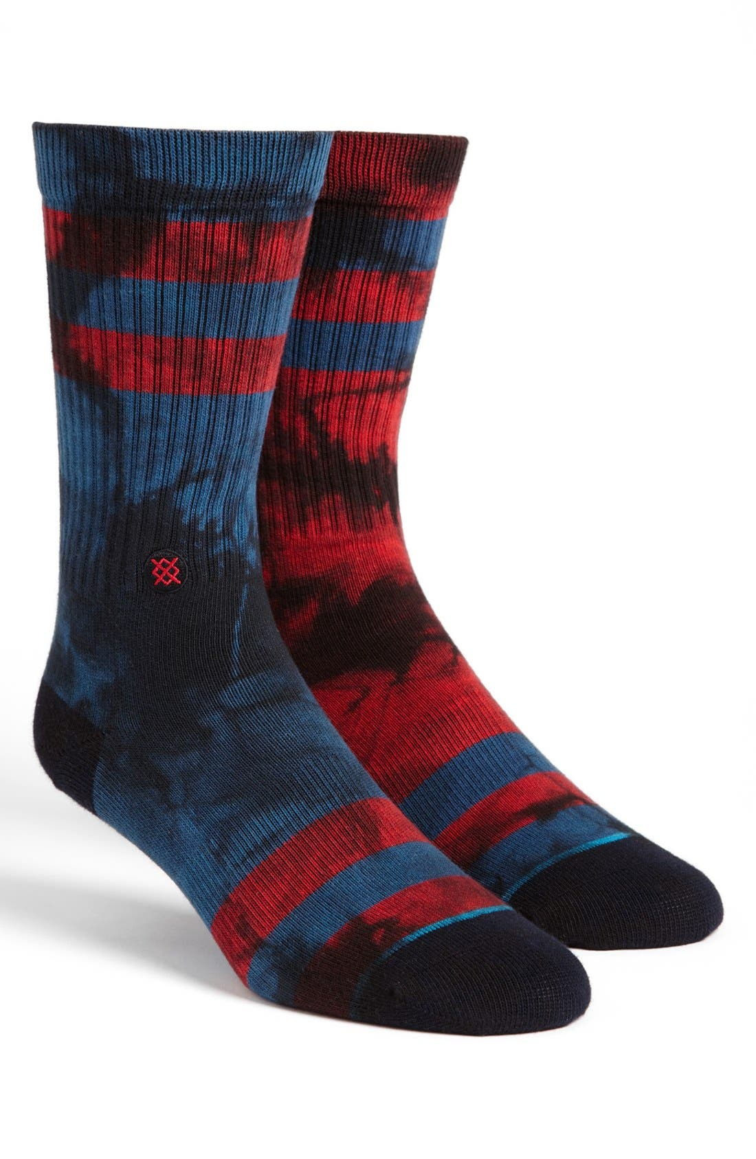 Alternate Image 1 Selected - Stance 'Invert' Rib Crew Socks
