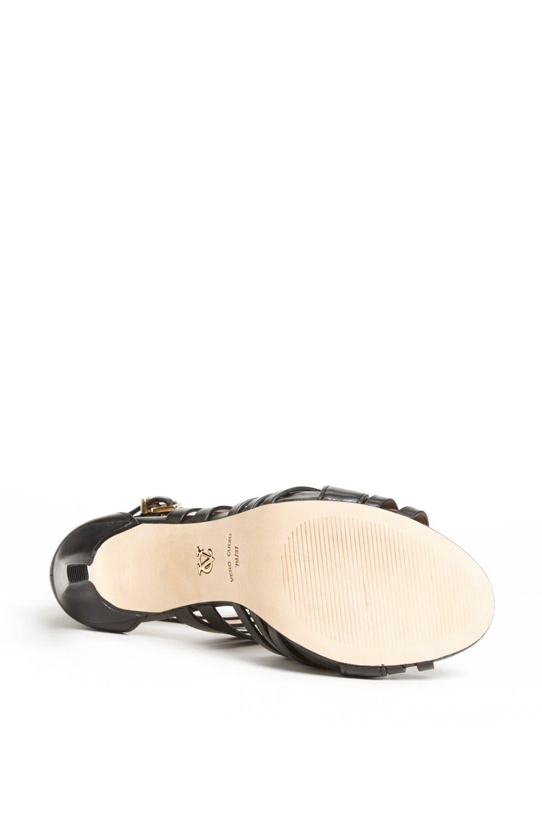 Alternate Image 4  - VC Signature 'Barbaraa' Woven Leather Sandal