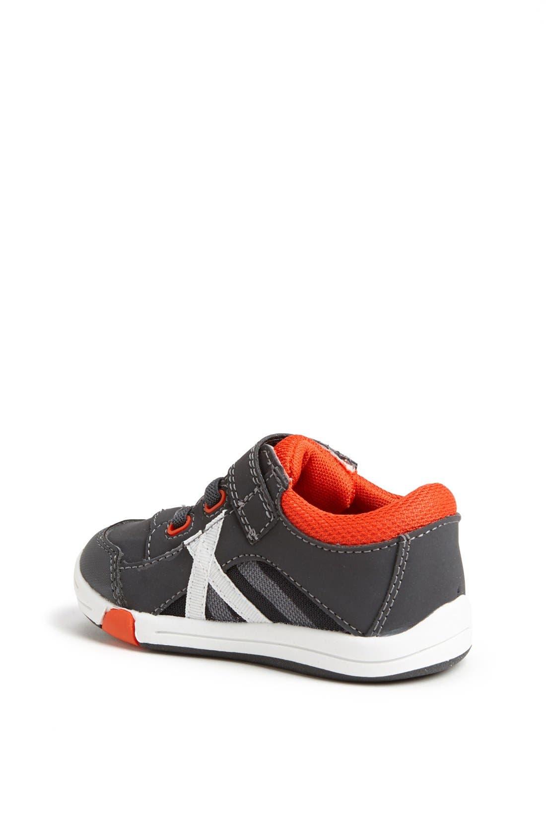 Alternate Image 2  - Jumping Jacks 'Finish Line' Sneaker (Baby, Walker & Toddler)