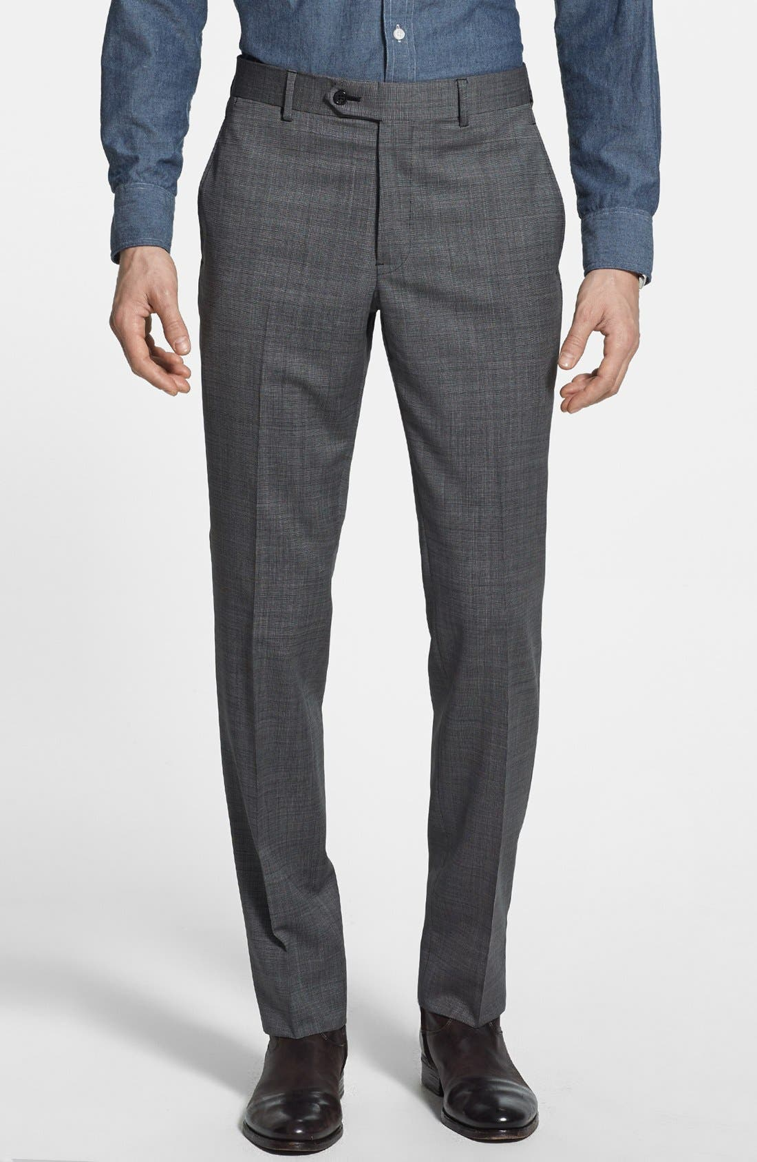 Alternate Image 4  - Todd Snyder Grey Wool Suit