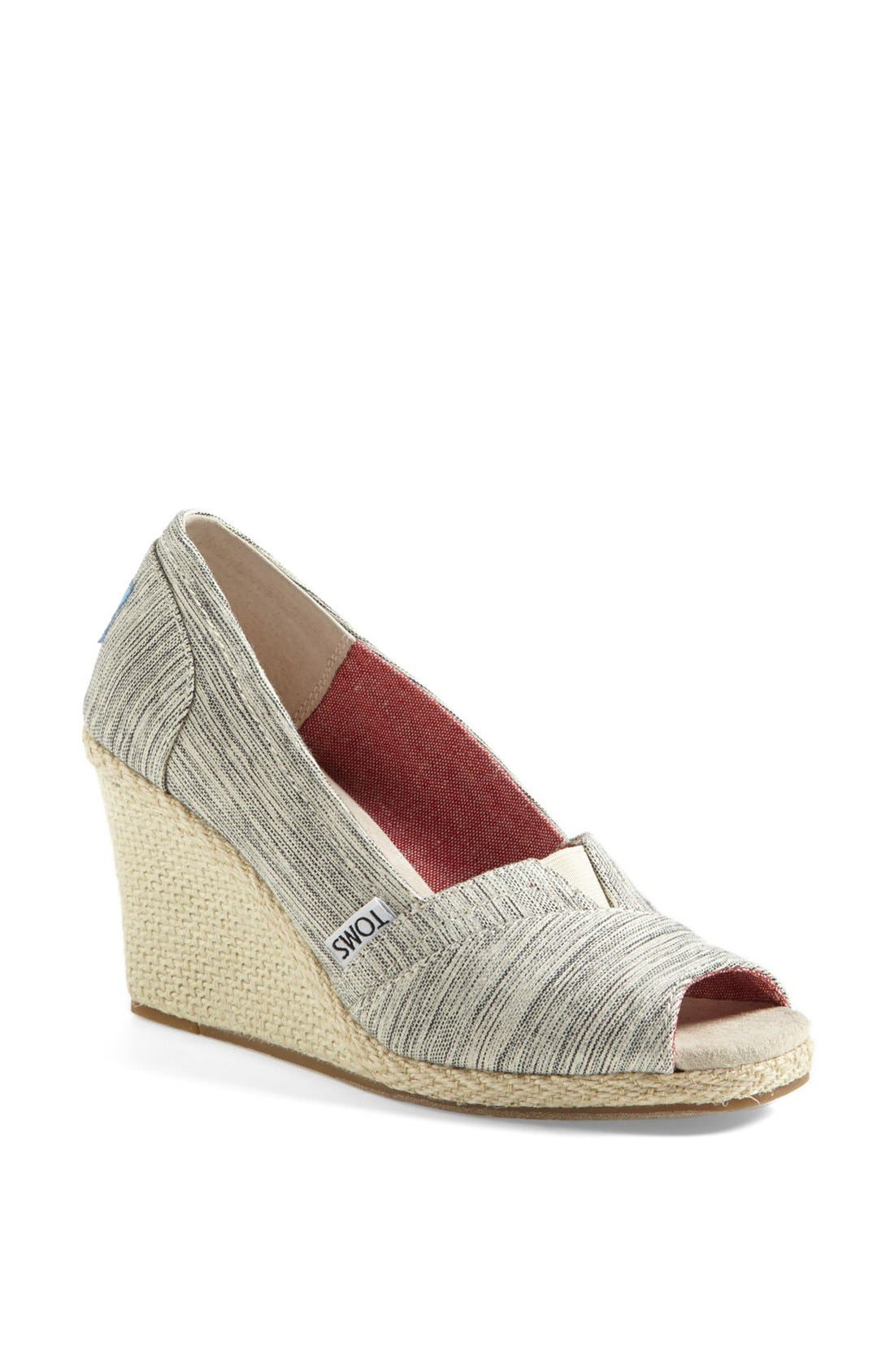 Alternate Image 1 Selected - TOMS Space Dyed Wedge (Women)