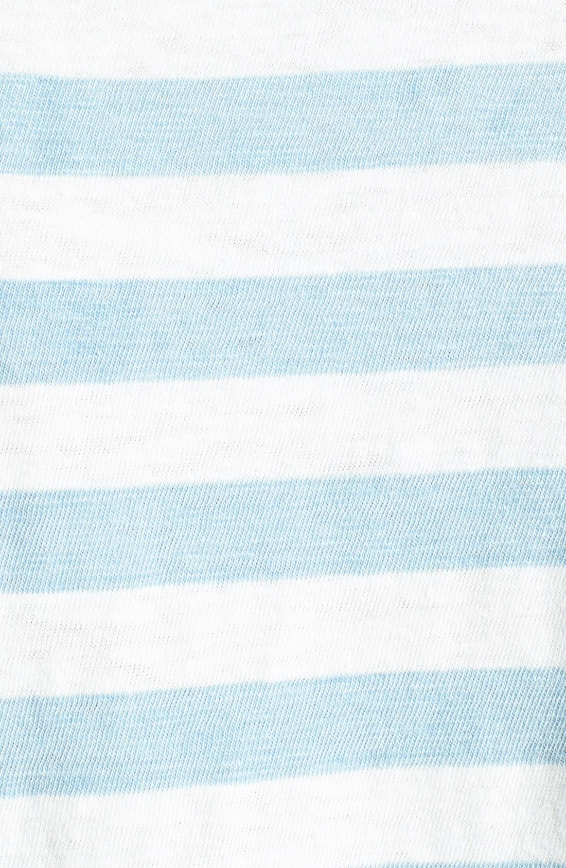 Alternate Image 3  - Splendid Stripe Cotton Boyfriend Tee