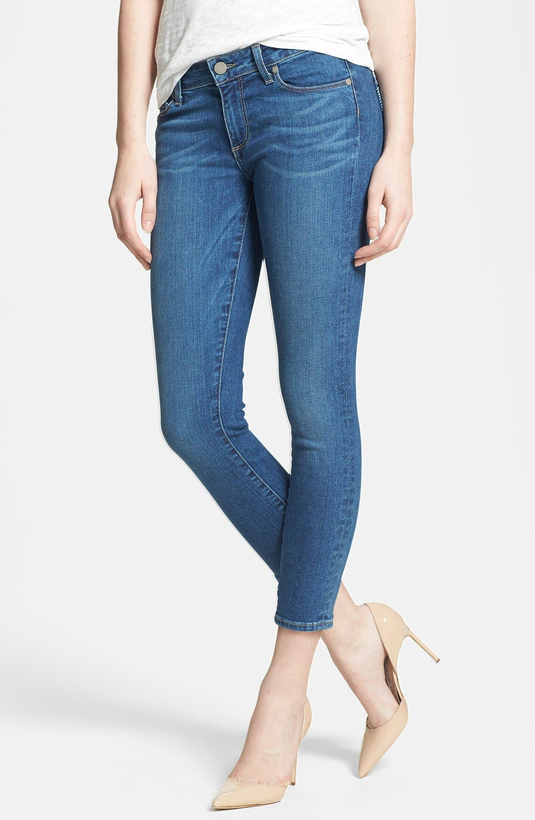 Alternate Image 1 Selected - Paige Denim 'Verdugo' Crop Skinny Jeans (Nevada)
