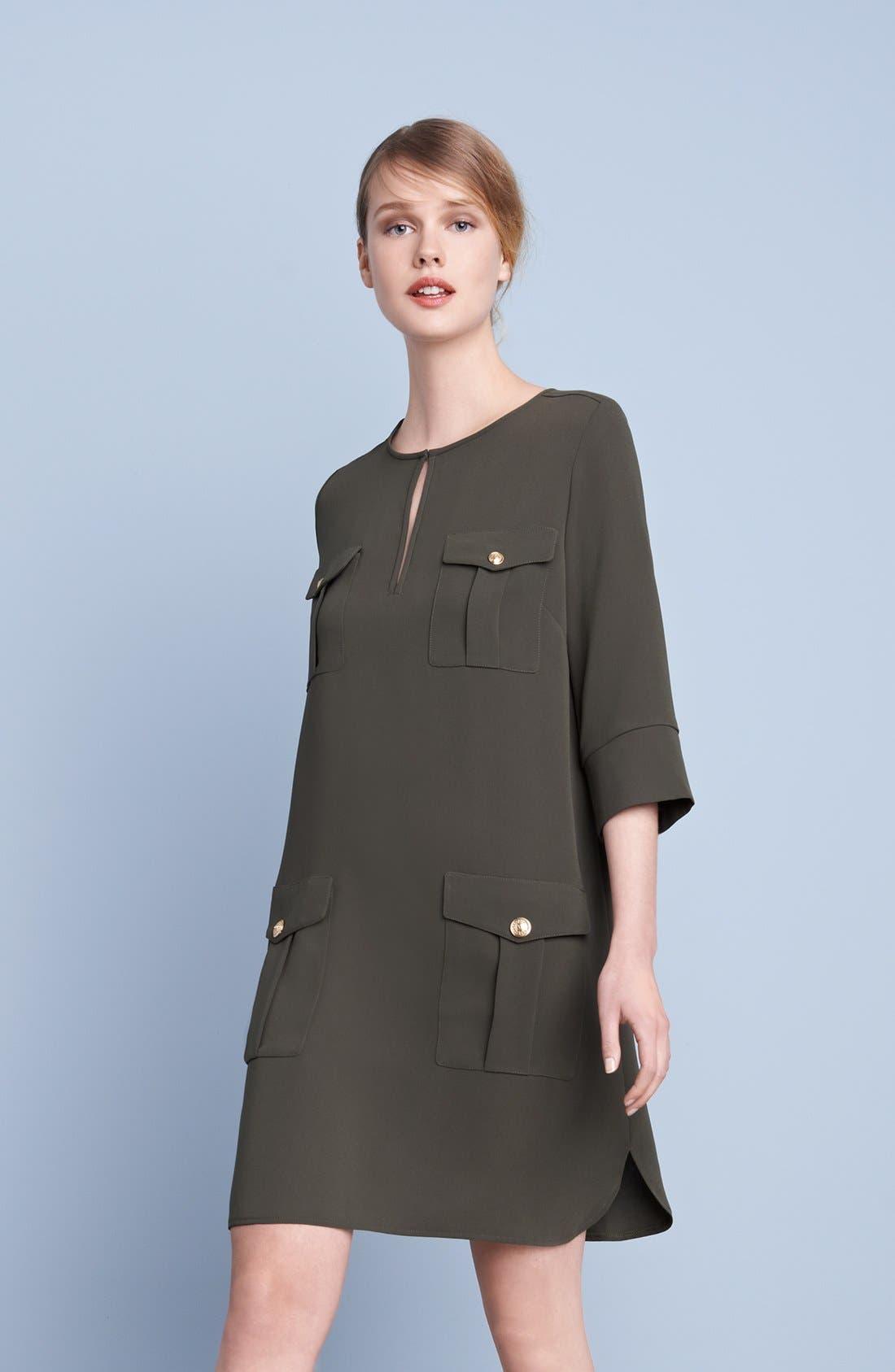 Alternate Image 6  - Diane von Furstenberg 'Agness' Woven Shift Dress