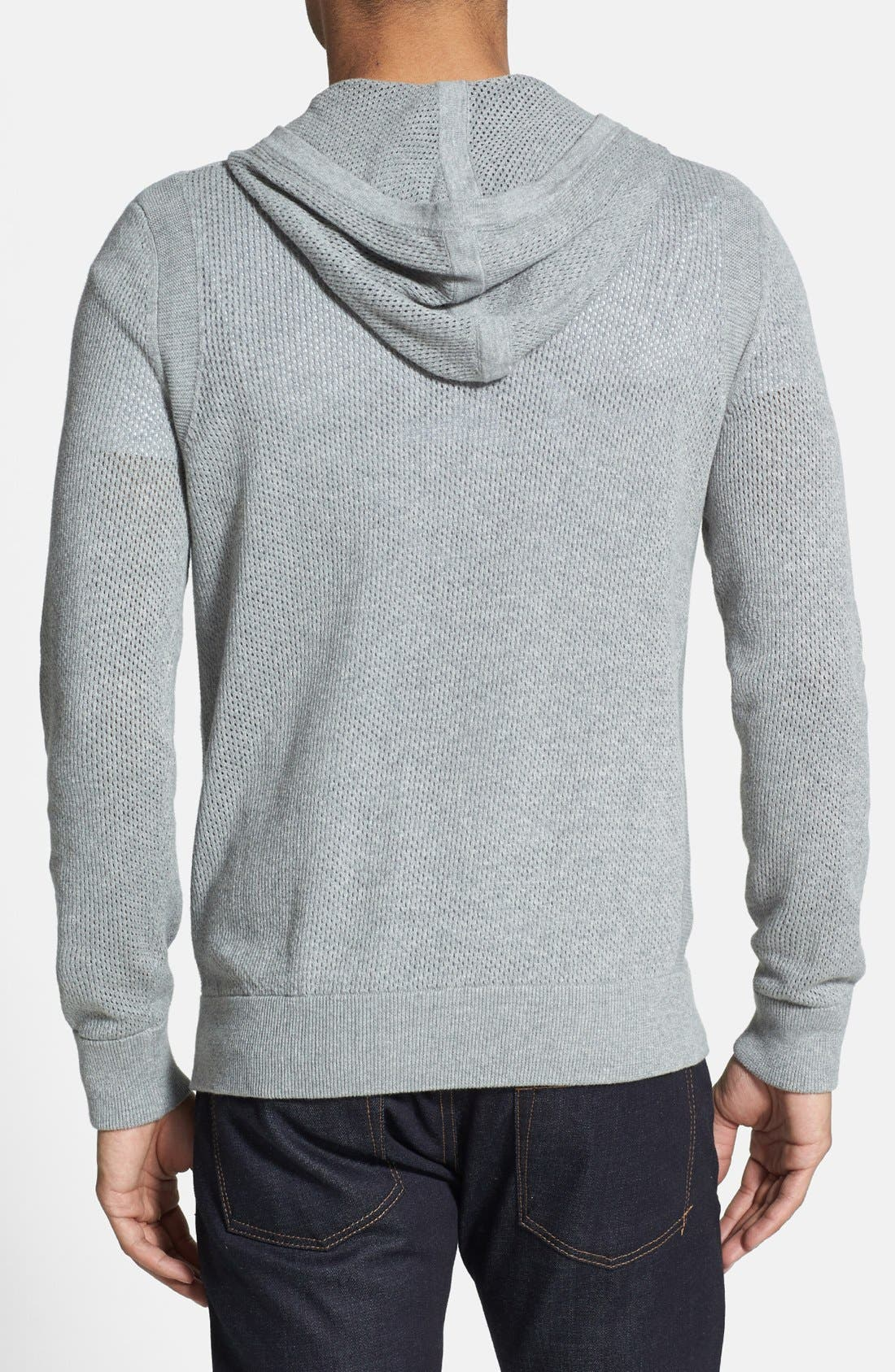 Alternate Image 2  - Kenneth Cole Collection Perforated Hoodie