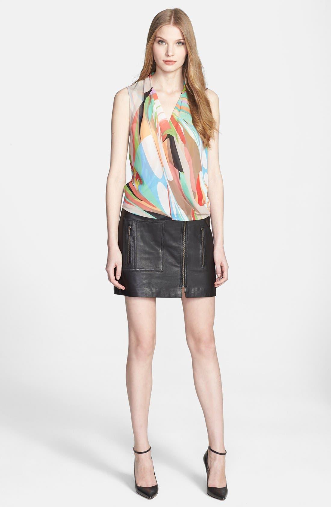 Alternate Image 4  - Trina Turk 'Muriel' Print Drape Top