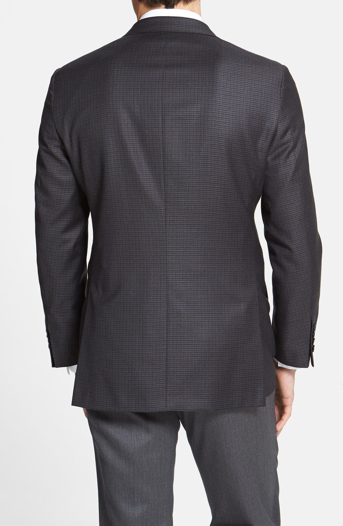 Alternate Image 2  - Hickey Freeman 'Beacon' Classic Fit Check Sportcoat