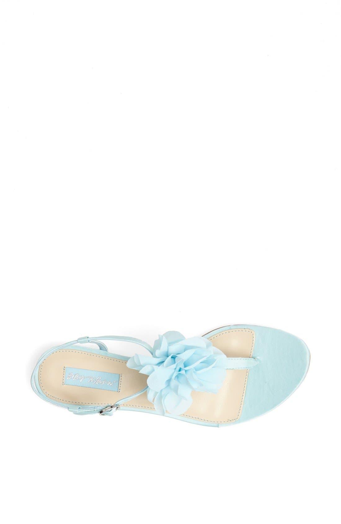 Alternate Image 3  - Blue by Betsey Johnson 'Iris' Thong Sandal