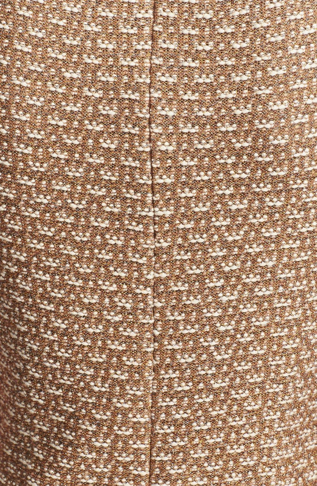 Alternate Image 3  - St. John Collection Broken Stripe Knit Sheath Dress