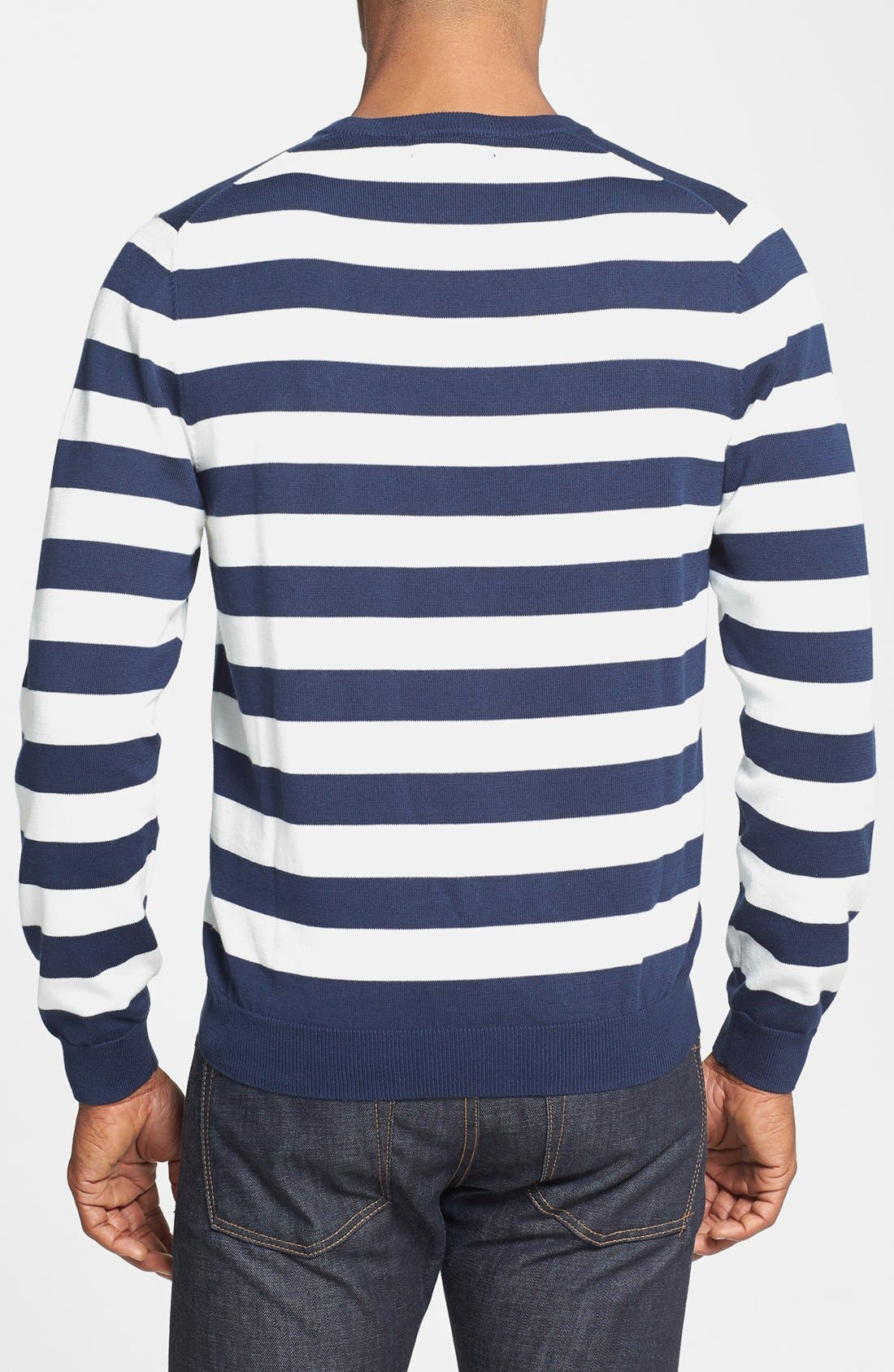 Alternate Image 2  - Brooks Brothers Supima® Cotton Crewneck Sweater
