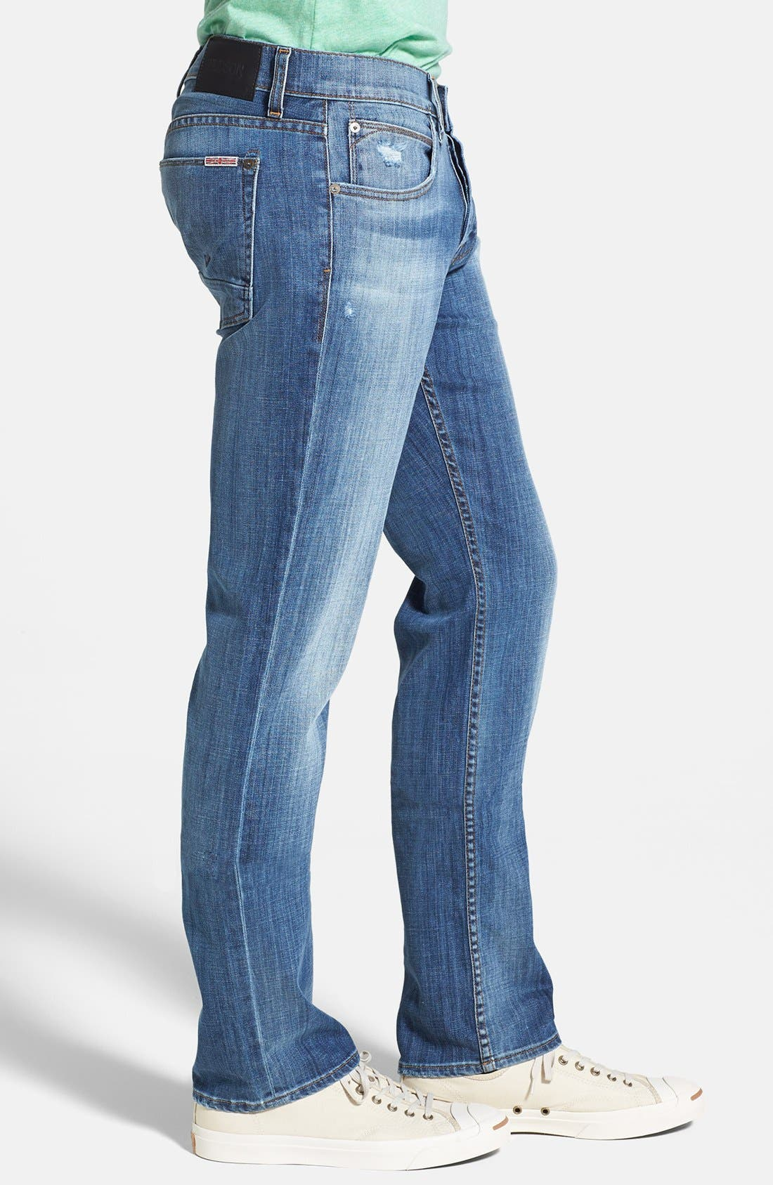 Alternate Image 3  - Hudson Jeans 'Byron' Straight Leg Jeans (Highway)