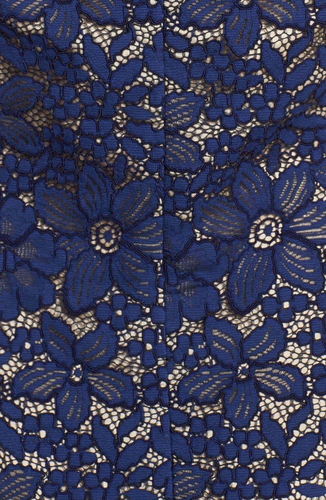 Alternate Image 4  - Trina Turk 'Bissitti' Lace Sheath Dress