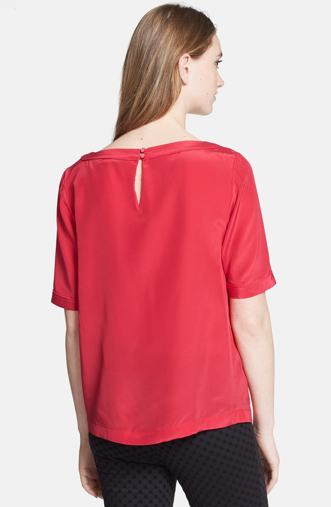 Alternate Image 2  - MARC BY MARC JACOBS 'Capella' Graphic Silk Blouse