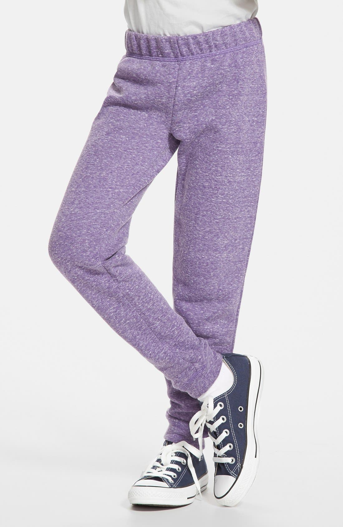 Alternate Image 1 Selected - Peek 'Logan' French Terry Pants (Toddler Girls, Little Girls & Big Girls)