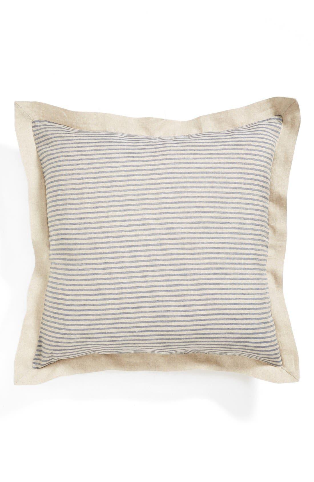 Alternate Image 1 Selected - Amity Home 'Bernadette' Stripe Linen Euro Sham