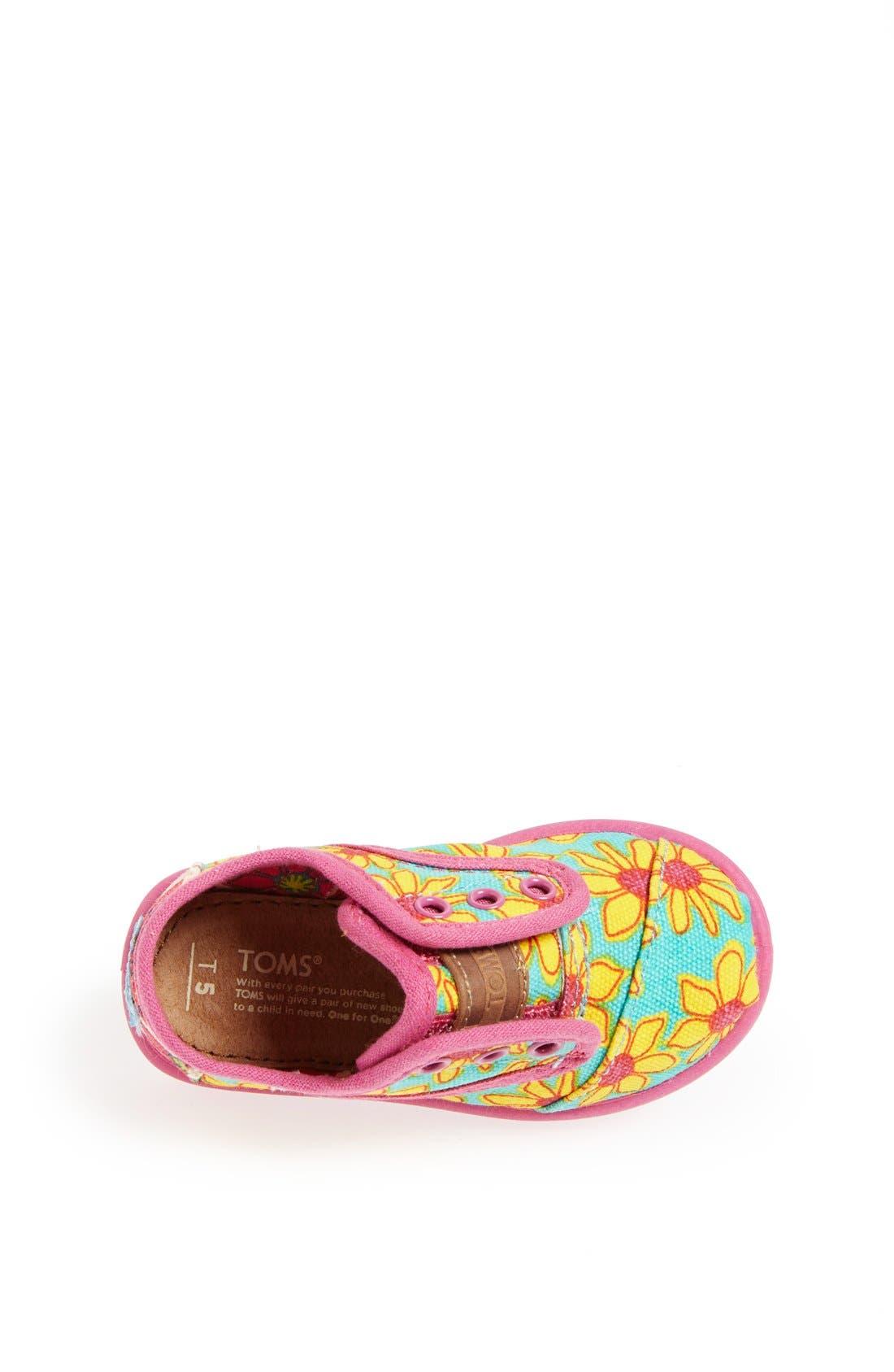 Alternate Image 3  - TOMS 'Cordones - Tiny' Slip-On Sneaker (Baby, Walker & Toddler)