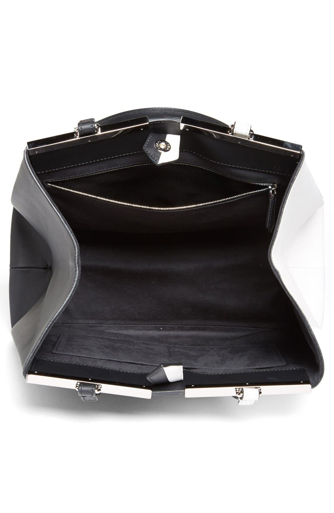 Alternate Image 3  - Fendi '3Jours - Computer' Leather Shopper