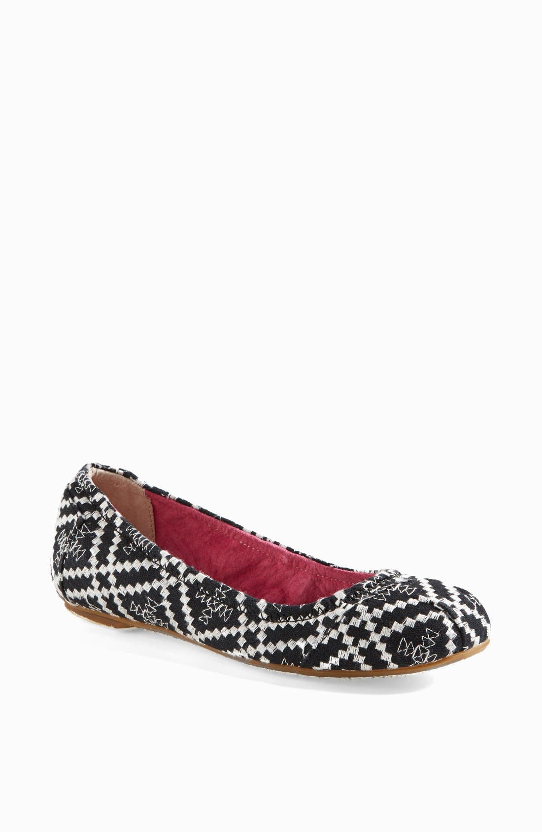 Alternate Image 1 Selected - TOMS Embroidered Ballet Flat (Women)