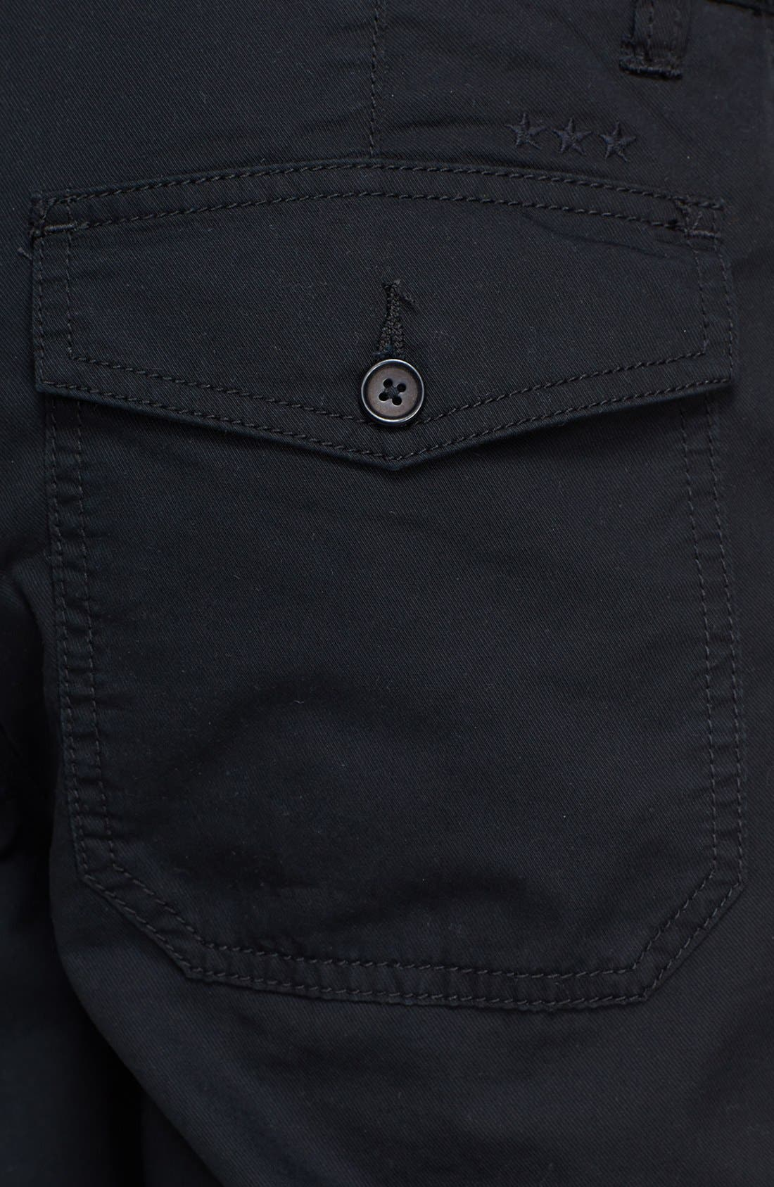 Alternate Image 3  - John Varvatos Star USA Flat Front Shorts