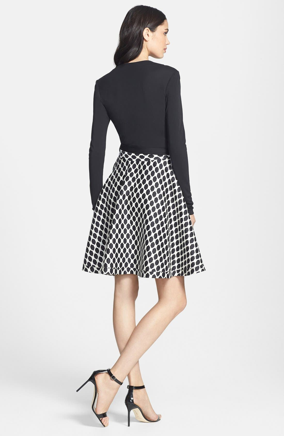 Alternate Image 2  - Diane von Furstenberg 'Amelia' Woven Wrap Dress