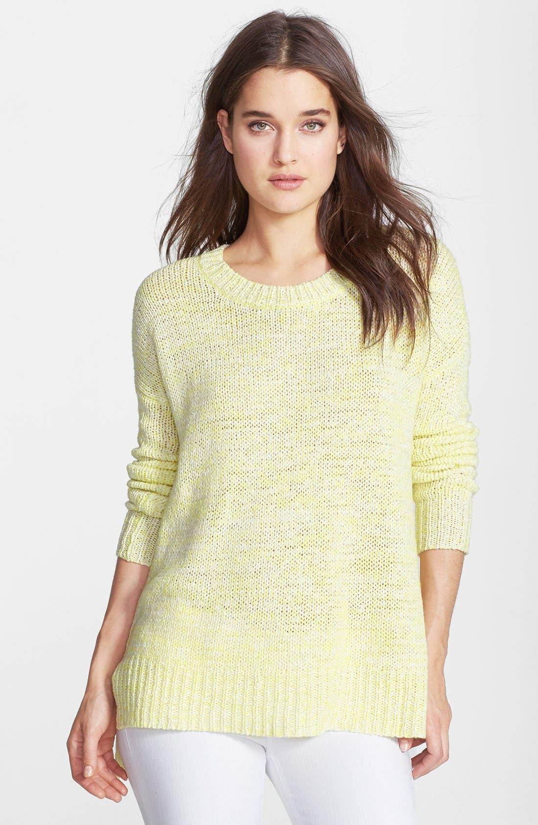 Alternate Image 1 Selected - Velvet by Graham & Spencer Marled Knit Sweater
