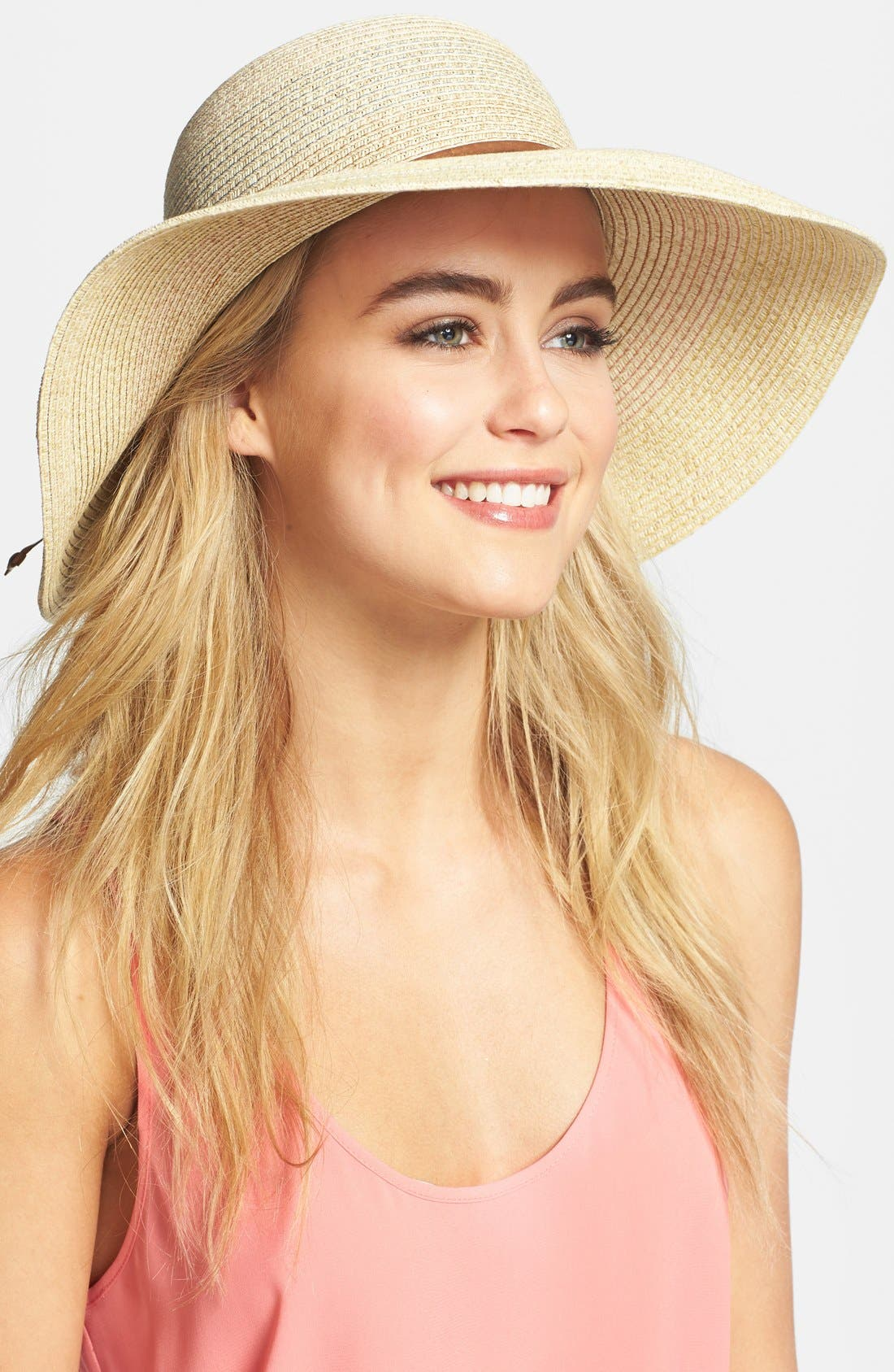 Alternate Image 1 Selected - Nordstrom Multicolor Floppy Hat