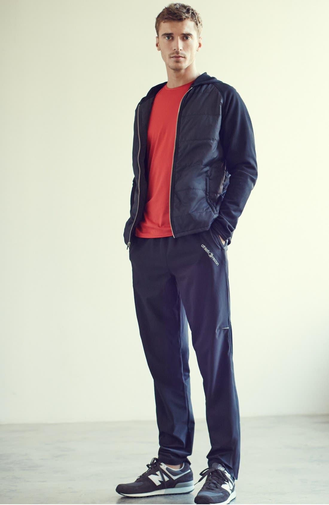 Alternate Image 6  - Athletic Recon 'Jayhawk' Puff Hooded Jacket