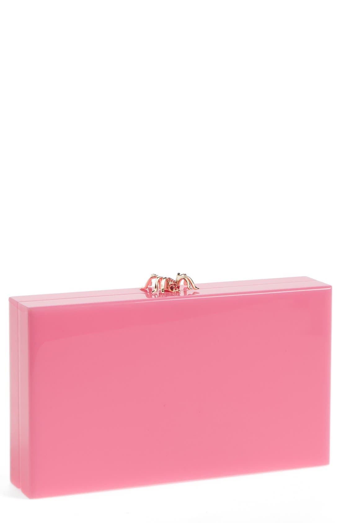 Alternate Image 1 Selected - Charlotte Olympia Spider Clasp Clutch
