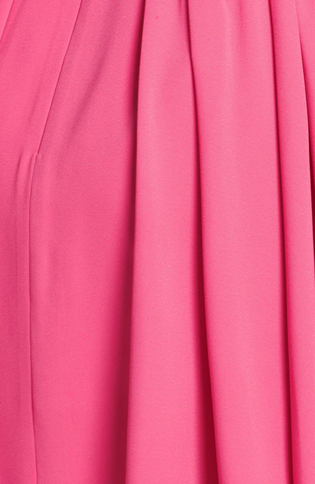 Alternate Image 3  - Jill Jill Stuart Bow Detail Crepe Fit & Flare Dress