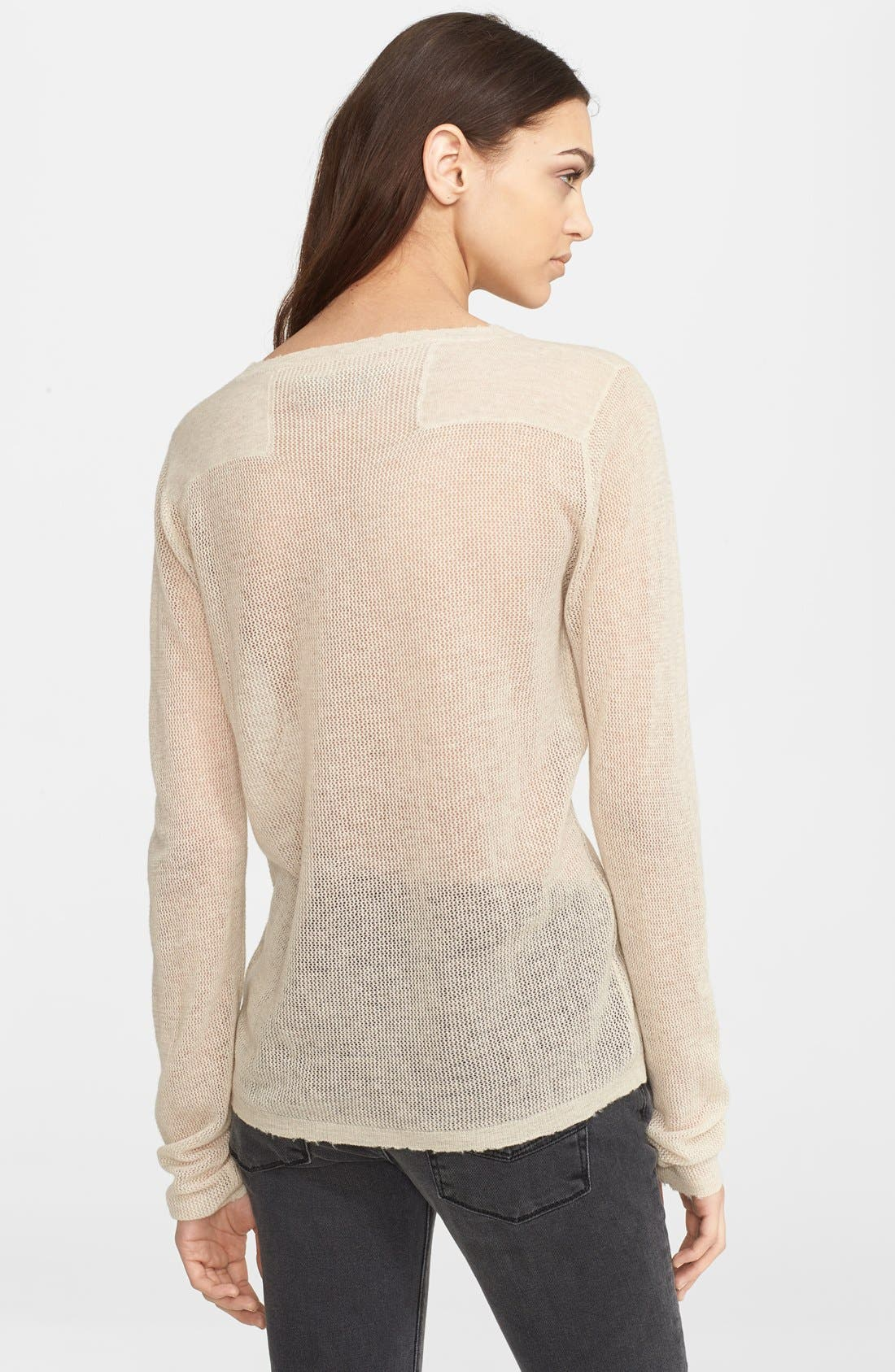 Alternate Image 2  - Zadig & Voltaire Foiled Cashmere Sweater