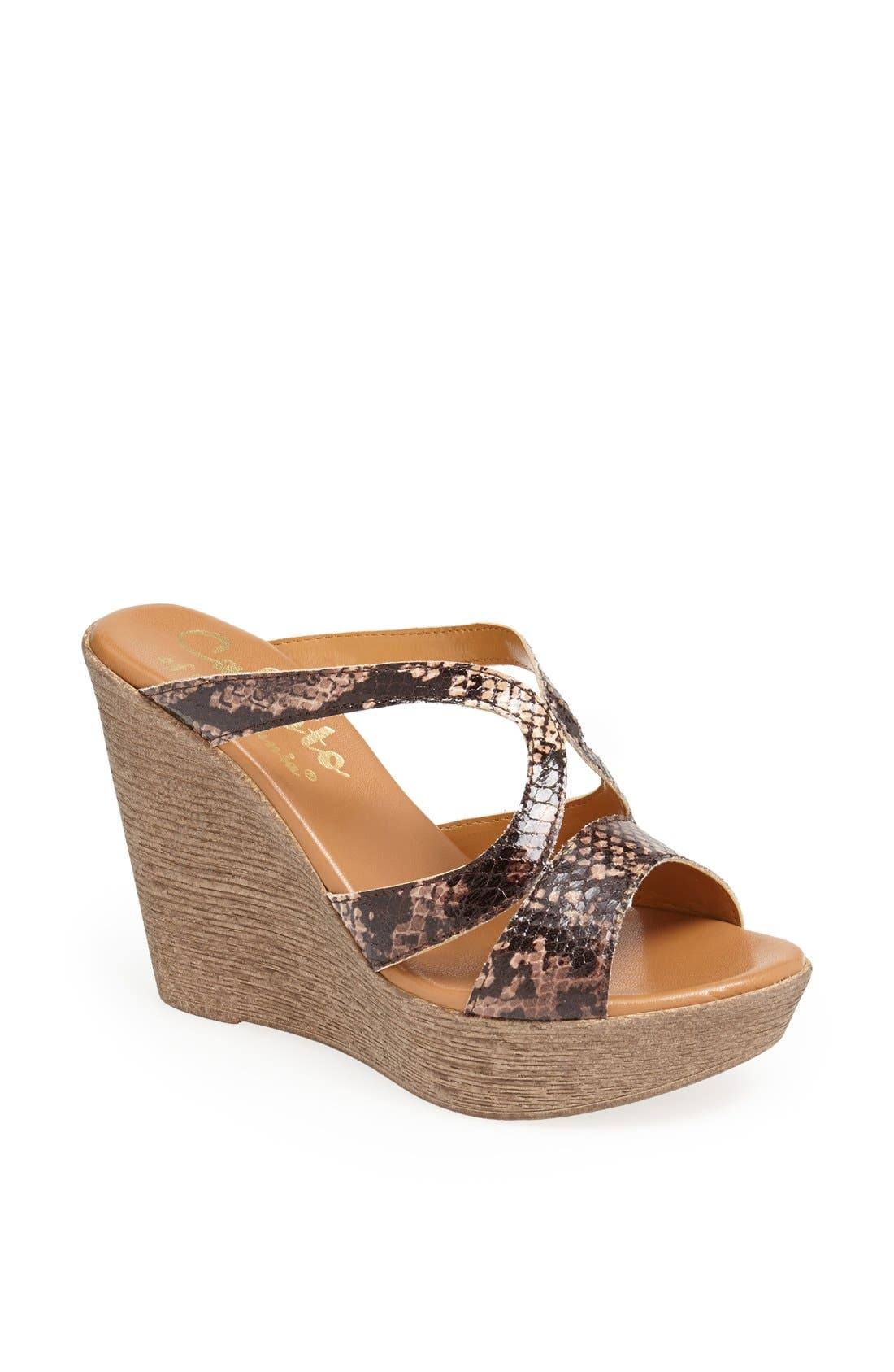Alternate Image 1 Selected - Callisto 'Hedie' Wedge Sandal
