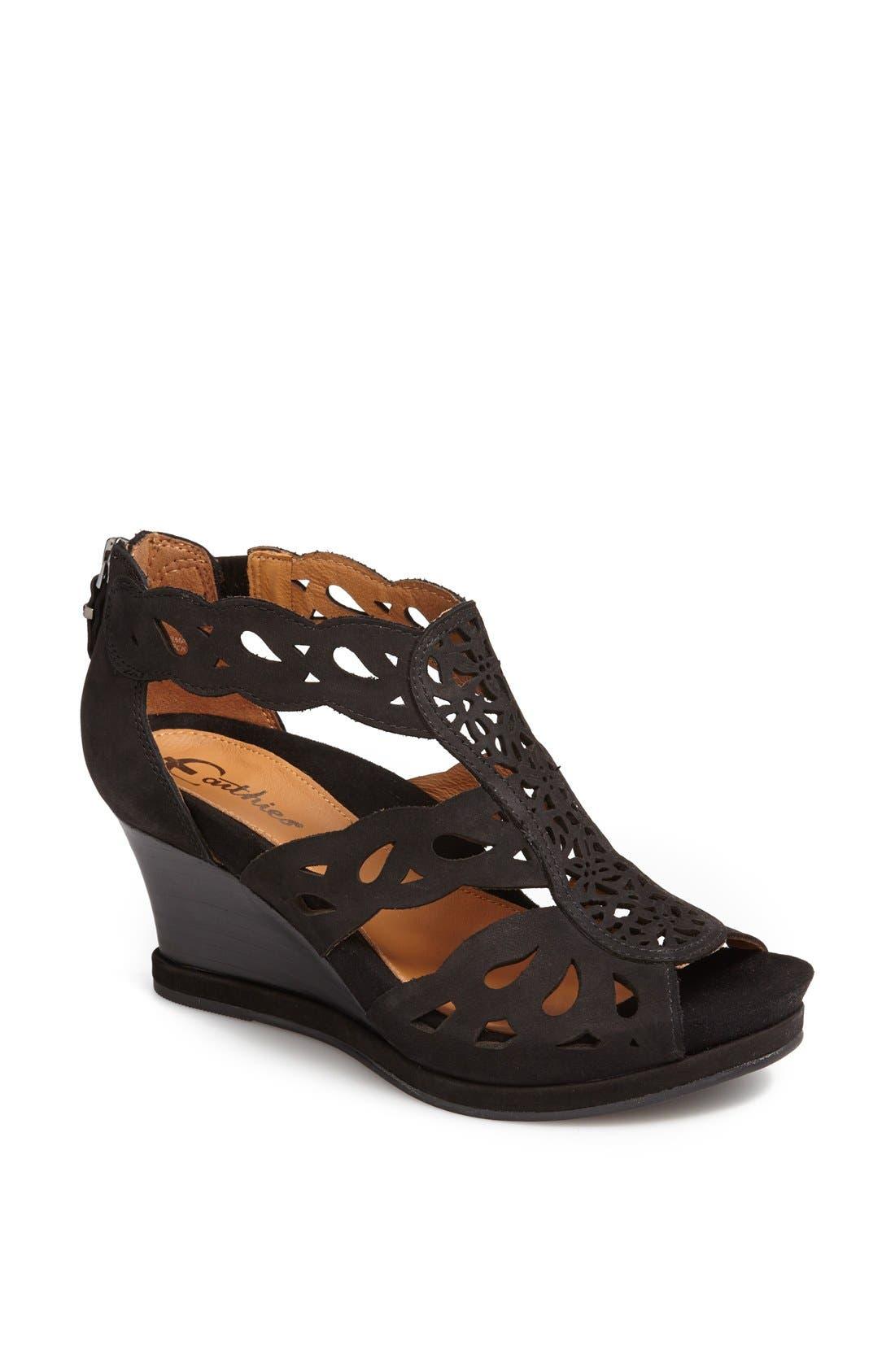 Alternate Image 1 Selected - Earthies® 'Campora' Wedge Sandal