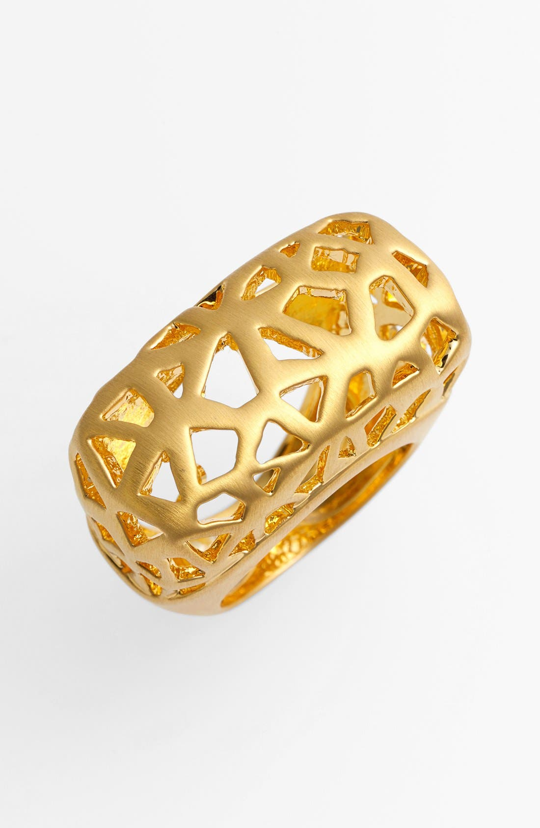 Alternate Image 1 Selected - Vince Camuto 'Mosaic Cutout' Statement Ring