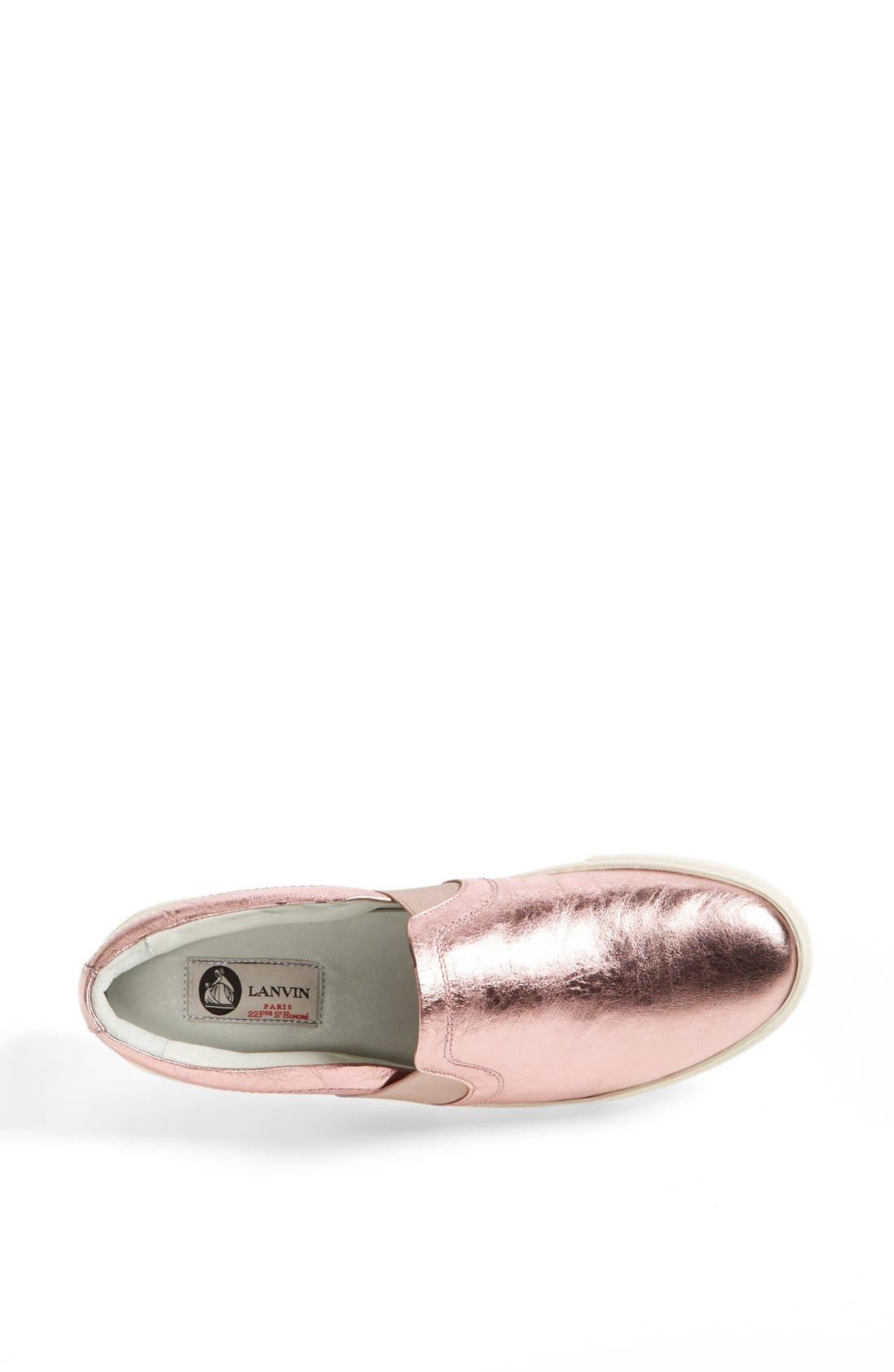 Alternate Image 3  - Lanvin Metallic Sneaker (Women)