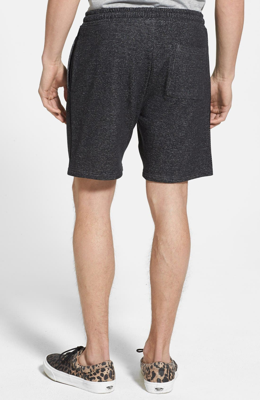 Alternate Image 2  - Topman Trim Fit Jersey Knit Shorts