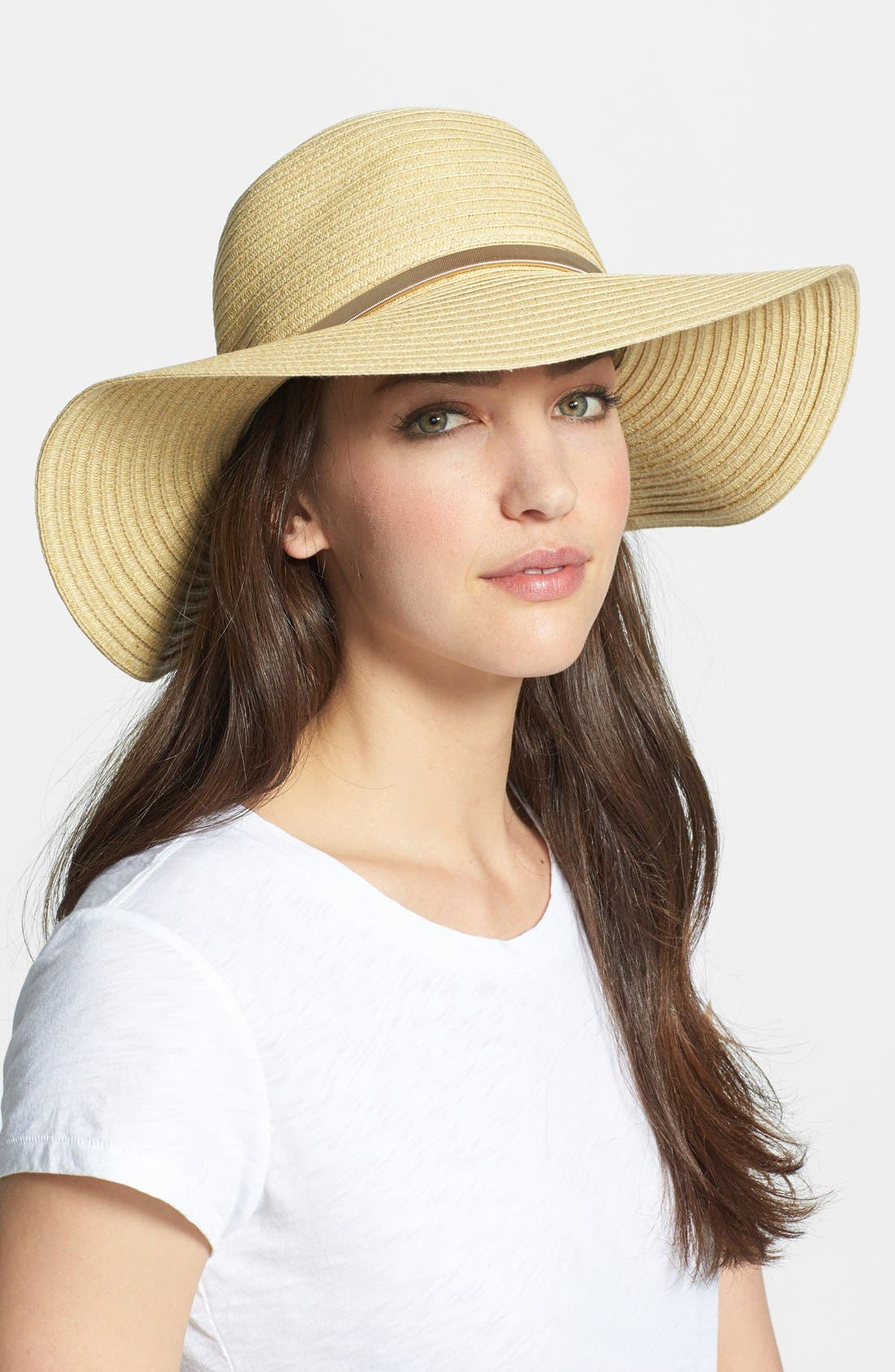 Alternate Image 1 Selected - Vince Camuto Floppy Hat