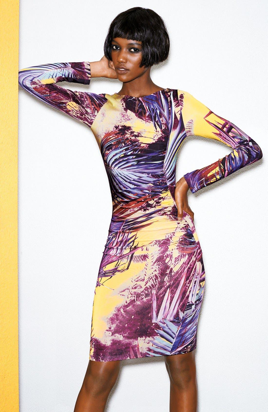 Alternate Image 4  - Jean Paul Gaultier Print Jersey Dress