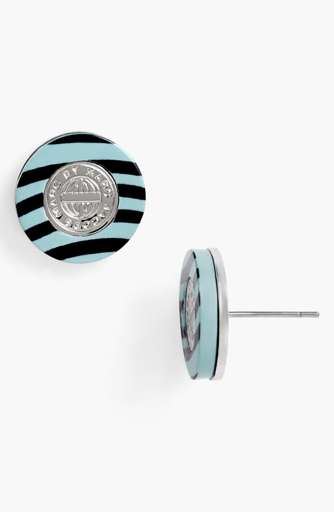 Main Image - MARC BY MARC JACOBS 'Charmed Pattern Coin' Stud Earrings