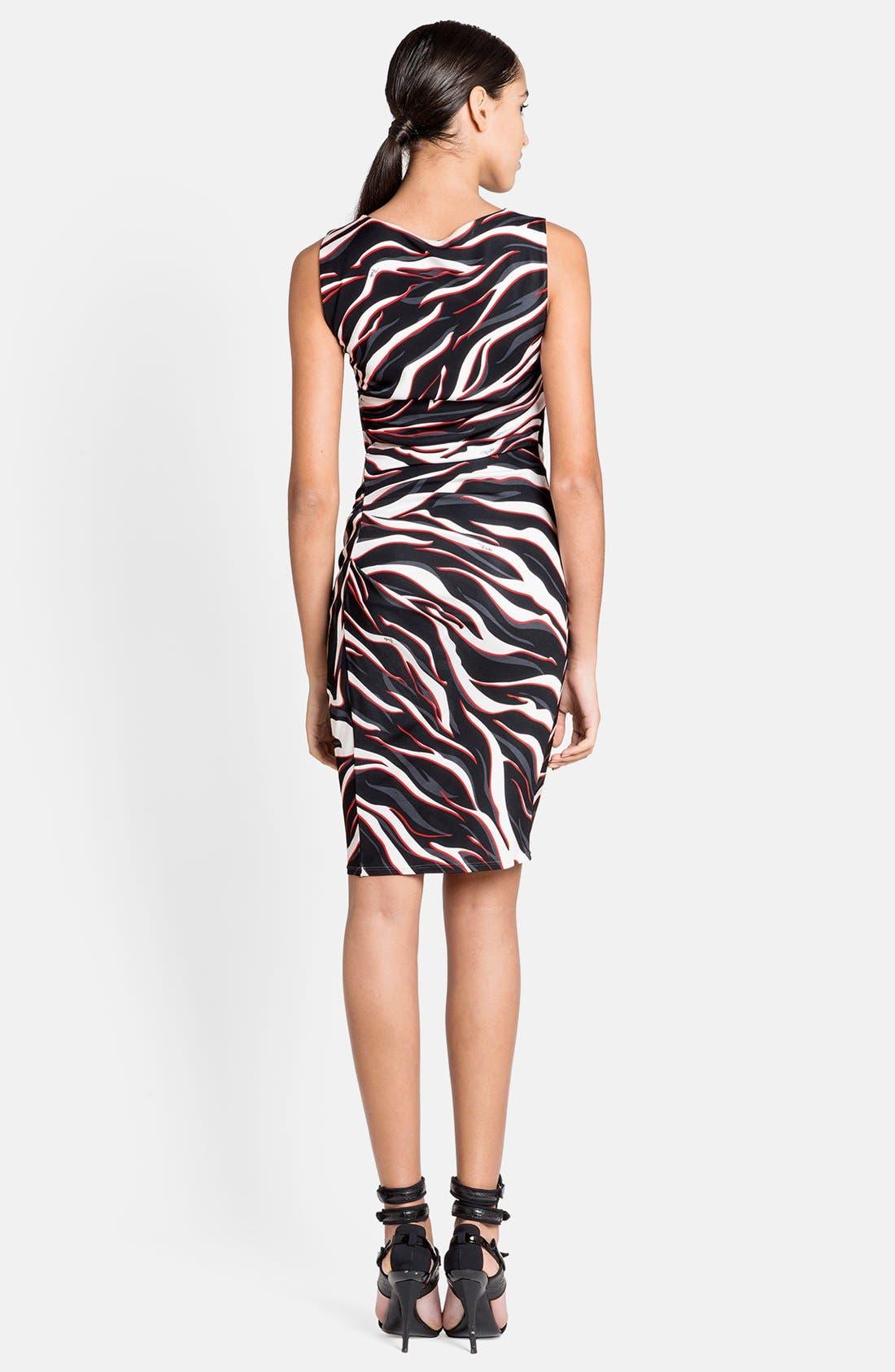 Alternate Image 2  - Emilio Pucci Zebra Print Dress