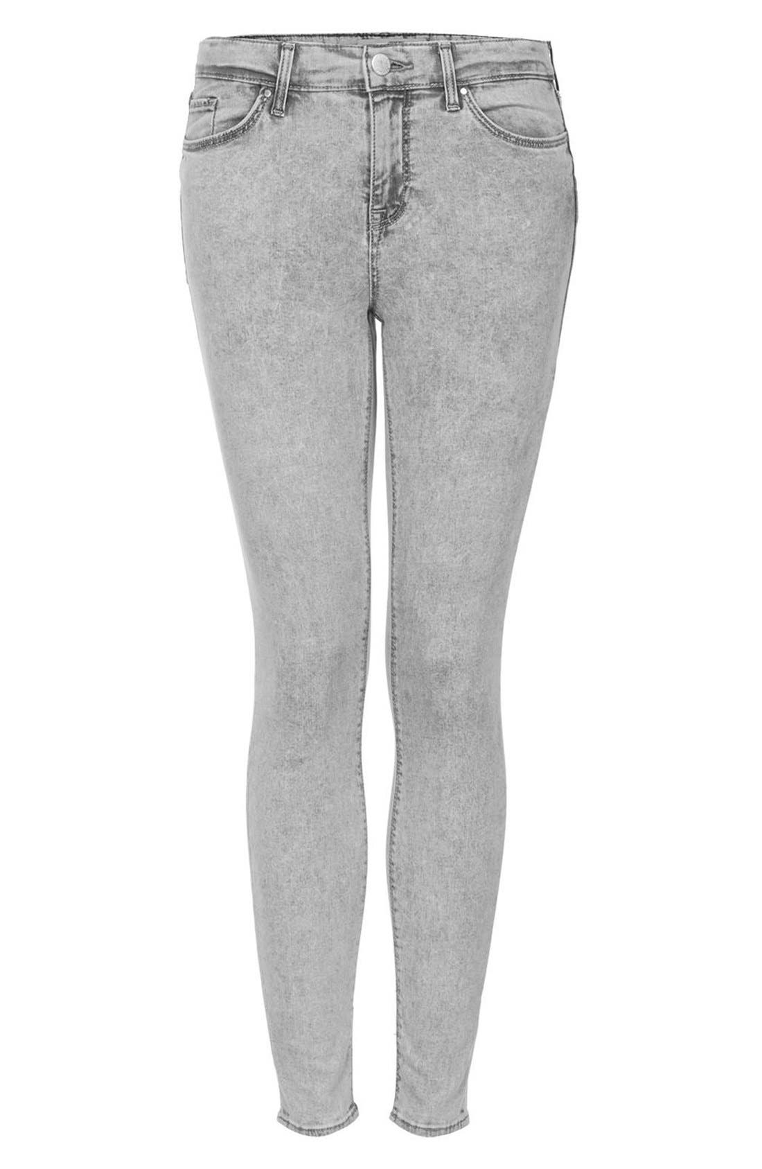 Alternate Image 3  - Topshop Moto 'Leigh' Skinny Ankle Jeans