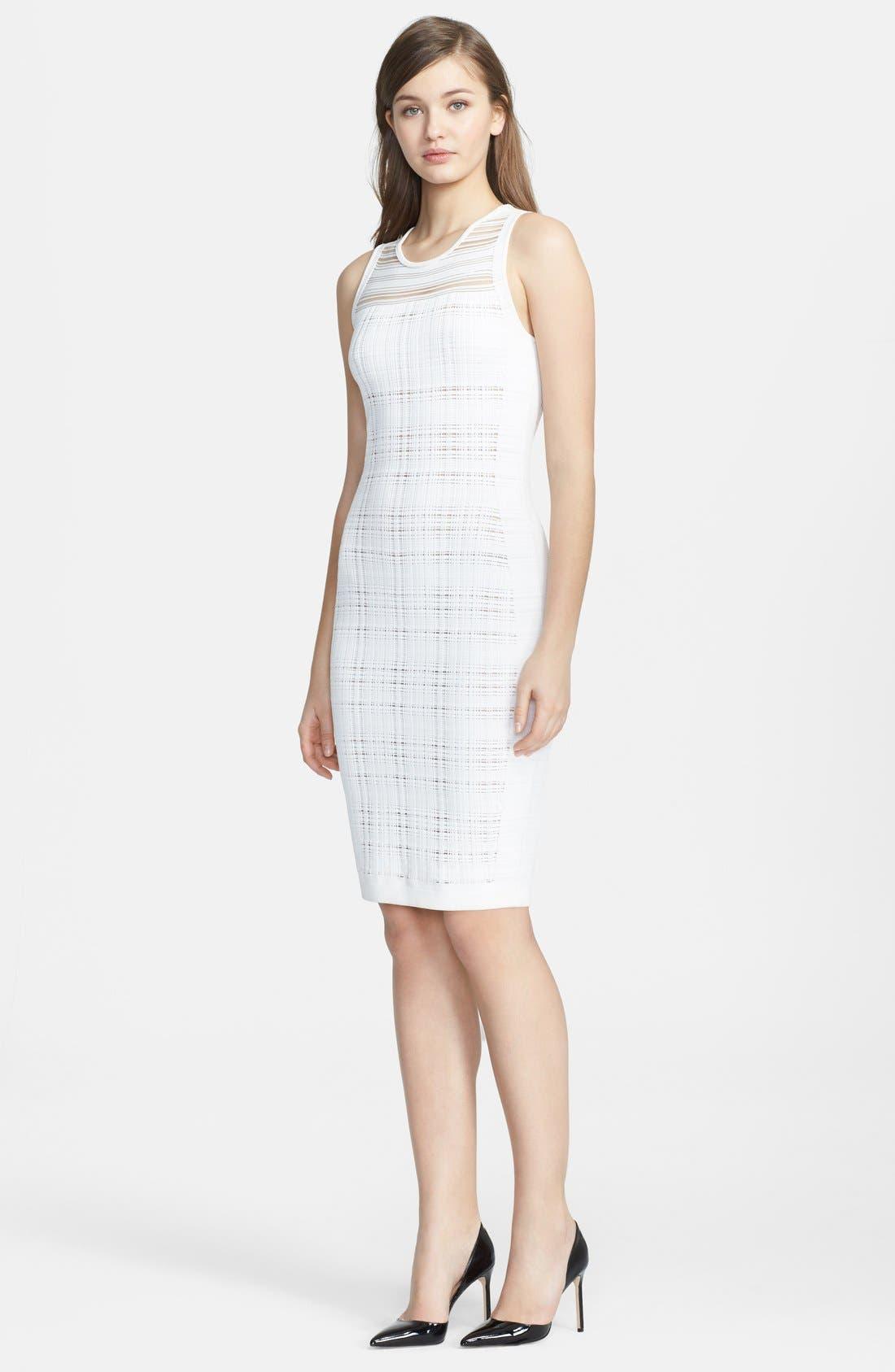 Alternate Image 1 Selected - Narciso Rodriguez Illusion Sheath Dress