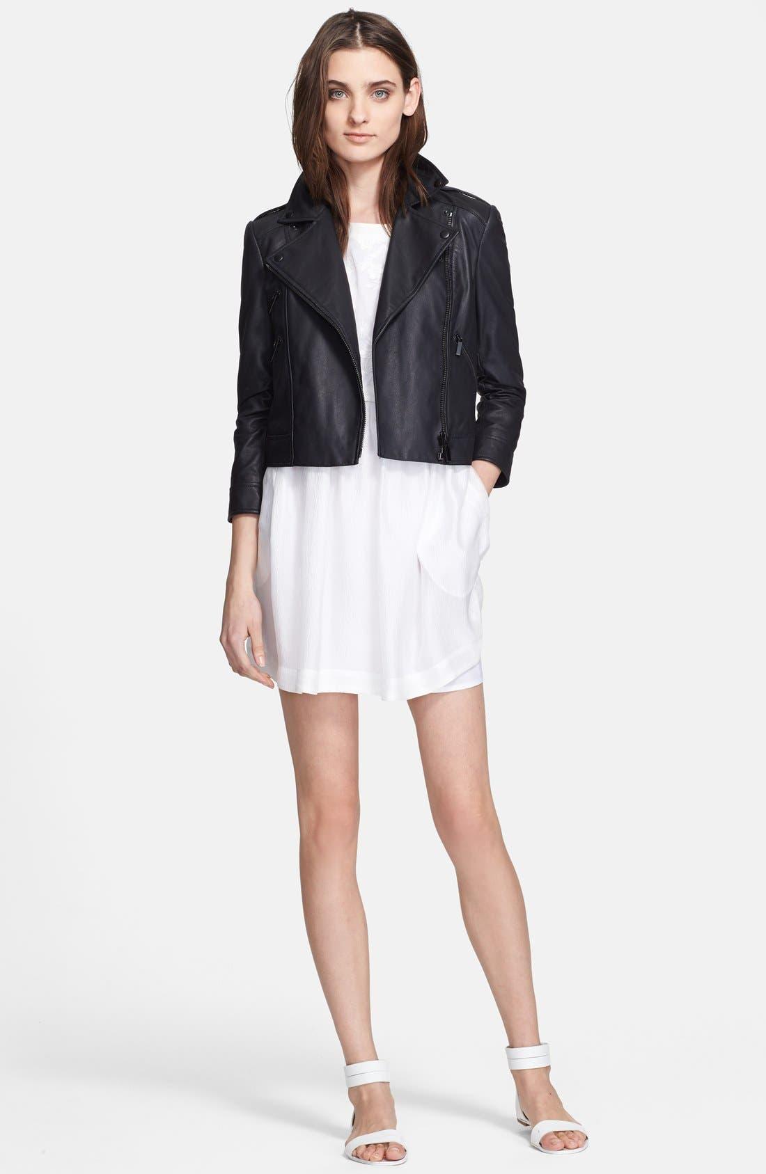 Alternate Image 1 Selected - Elizabeth and James 'Erwan' Leather Jacket