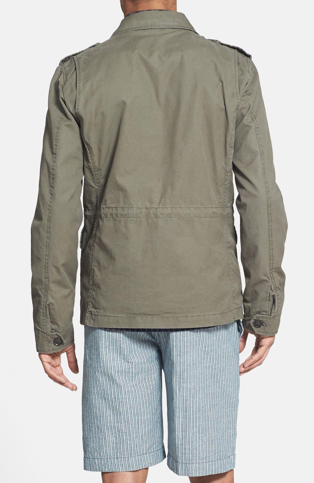 Alternate Image 2  - Woolrich 'M43' Waxed Cotton Field Jacket