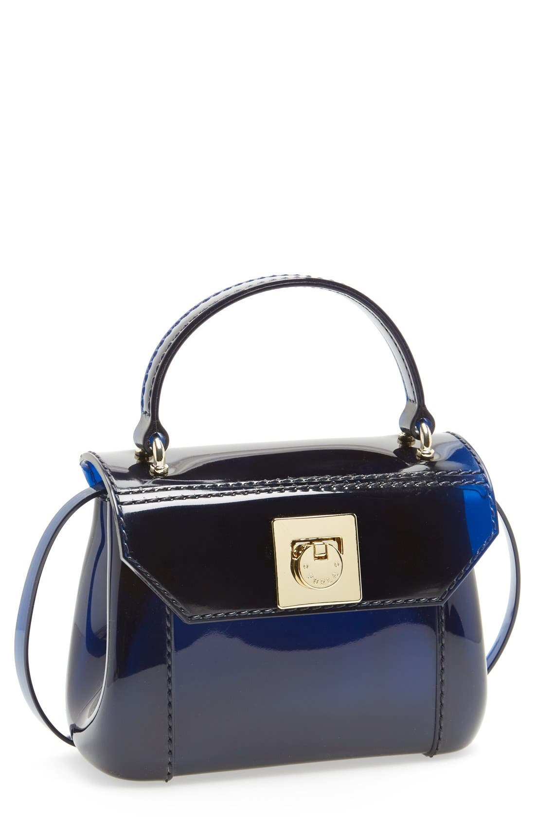 Alternate Image 1 Selected - Furla 'Candy - Mini' Top Handle Crossbody Bag